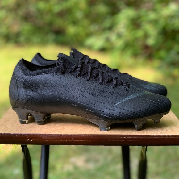 super popular 14801 272c1 NEW Nike Mercurial Vapor 360 Elite FG Black Cleats